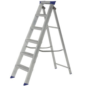Werner MasterTrade Step Ladder - 6 Tread