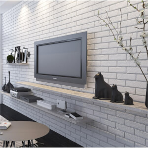 The Strand White Brick Wall Tiles