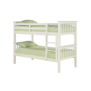 Leo Bunk Bed - White
