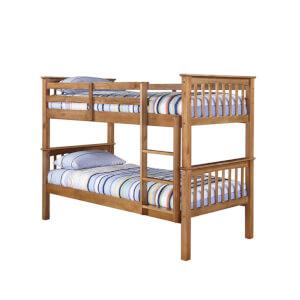 Leo Bunk Bed - Pine
