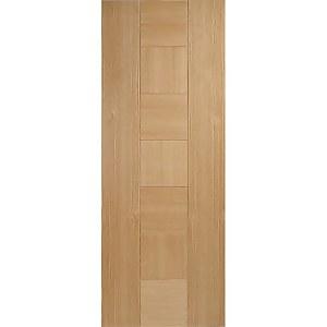 Catalonia Internal Prefinished Oak Fire Door - 686 x 1981mm