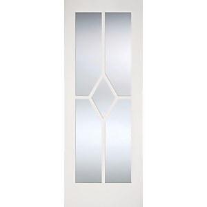 Reims Internal Glazed Primed White 5 Lite Door - 762 x 1981mm