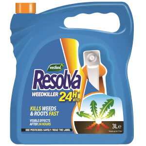 Resolva 24H Weedkiller Ready To Use - 3L