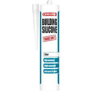 Evo-Stik Building Sealant Clear - 290ml