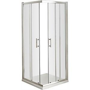 Balterley Corner Entry Shower Door - 900mm (6mm Glass)