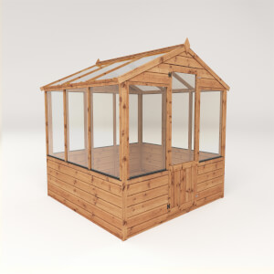 Mercia (Installation Included) 6x6ft Traditional Greenhouse