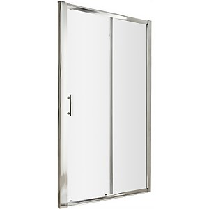 Balterley Single Sliding Shower Door - 1700mm (6mm Glass)