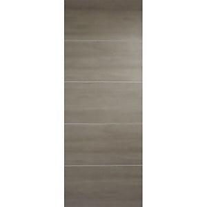 Santandor Internal Light Grey Laminate 5 Panel Door - 686 x 1981mm