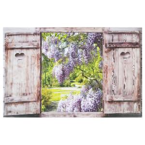 Shutter Garden Outdoor Canvas 59x90cm