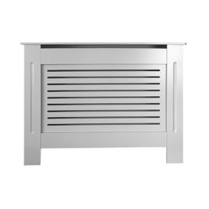 Horizontal Grey Radiator Cover - Small