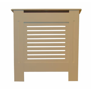 Horizontal Unpainted Radiator Cover - Mini