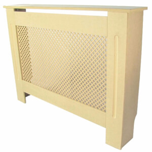 Diamond Unpainted Radiator Cover - Small