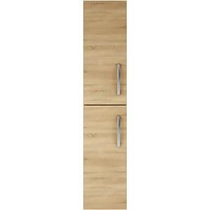 Balterley Rio 300mm Tall Unit 2 Door - Natural Oak