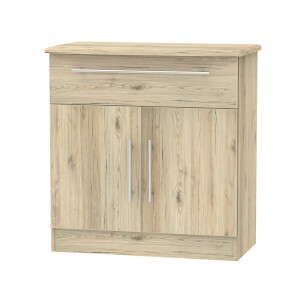 Siena 1 Drawer Sideboard - Bordeaux Oak