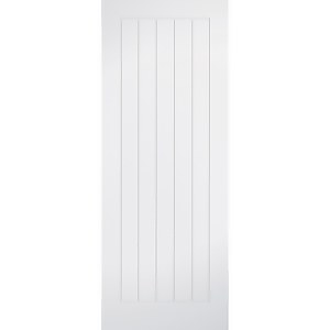 Mexicano - White Primed Internal Fire Door - 1981 x 838 x 44mm