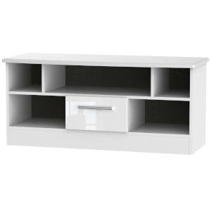 Kensington Open TV Unit - White