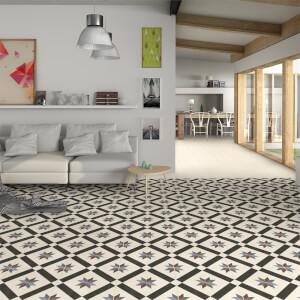 Bara Ivory Wall & Floor Tile 33x33cm