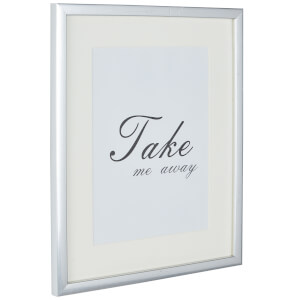 Grace Picture Frame 8 x 6 - Silver