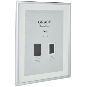 Grace Picture Frame A4 - Silver