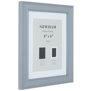 Newham Picture Frame 8 x 6 - Grey