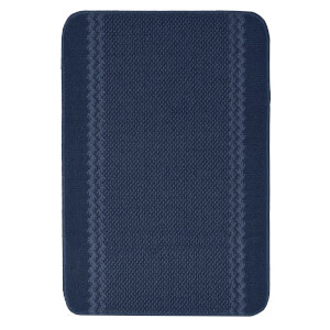 Richmond washable mat -Blue