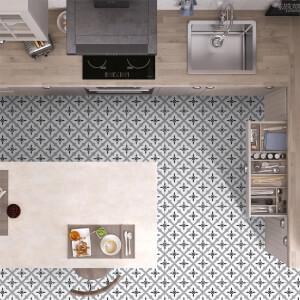 4 Seasons Grey Floor Tile - 33x33