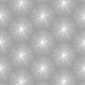 Sublime Fire Circle Silver Wallpaper