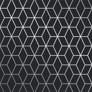 Superfresco Easy Prism Grey Fonce Wallpaper