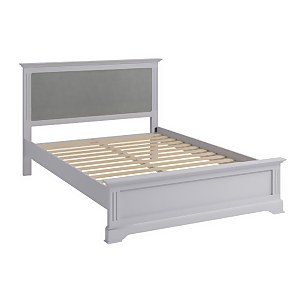 Camborne Double Bed Frame - Grey