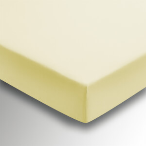 Helena Springfield Plain Dye 36cm Deep Fitted Sheet - Single - Citron