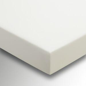 Helena Springfield Plain Dye Fitted Sheet - King - Ivory