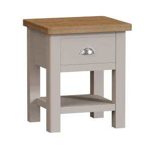 Padstow Lamp Table - Truffle