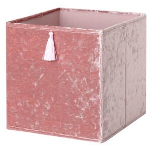 Compact Cube Velvet Insert - Blush