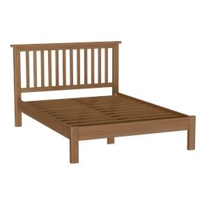 Newlyn Double Bed Frame - Oak