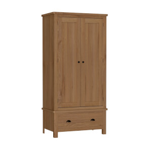 Newlyn Double Wardrobe - Oak