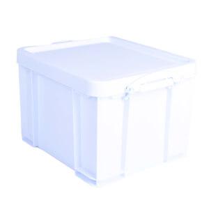 Really Useful Storage Box - Neon White - 35L