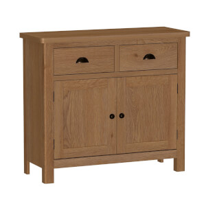Newlyn 2 Door 2 Drawer Sideboard - Oak