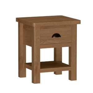 Newlyn Lamp Table - Oak