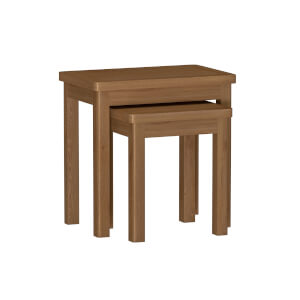 Newlyn Nest of 2 Tables - Oak