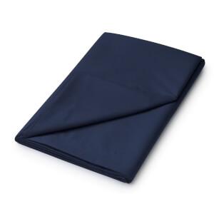 Helena Springfield Plain Dye Flat Sheet - Super King - Navy