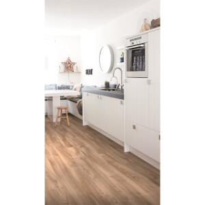 Embossed Luxury Vinyl Click Flooring -  Stockton Oak