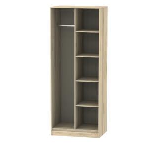Tokyo Open Shelf Wardrobe - Oak