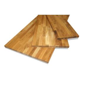 Solid Oak Board - 18 x 200 x 1750mm