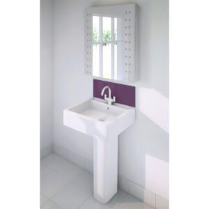 Wetwall Upstand - 900 x 200mm - Jewel - Glass