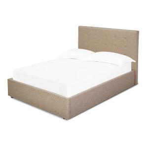 Lucca Lift Double Bed - Beige