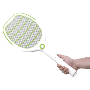 Insect Killer & Rechargeable Lamp Racquet