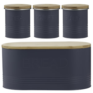 Typhoon Essentials 4 Piece Jar Set - Blue