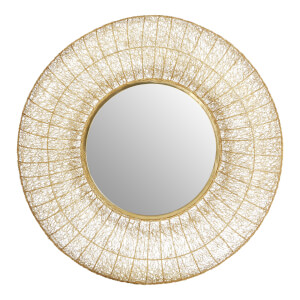 Temple Gold Wall Mirror