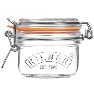 Kilner Clip Top Round Jar - 125ml