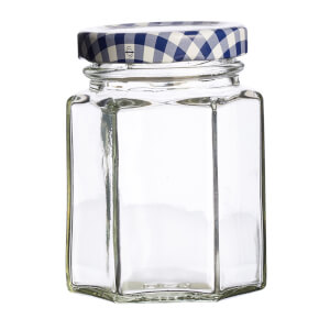 Kilner Hexagonal Twist Top Jar - 110ml